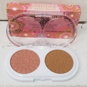 Pacifica Blush & Bronzer Compact Coconut 5/$25
